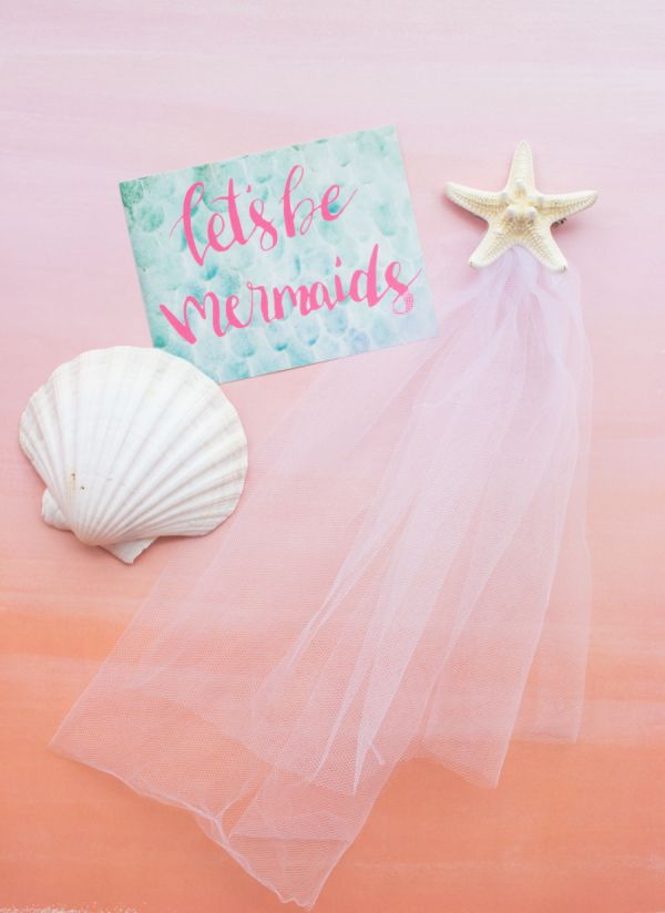 Beachy Bachelorette Party? You Need These Mermaid Gift Sets!