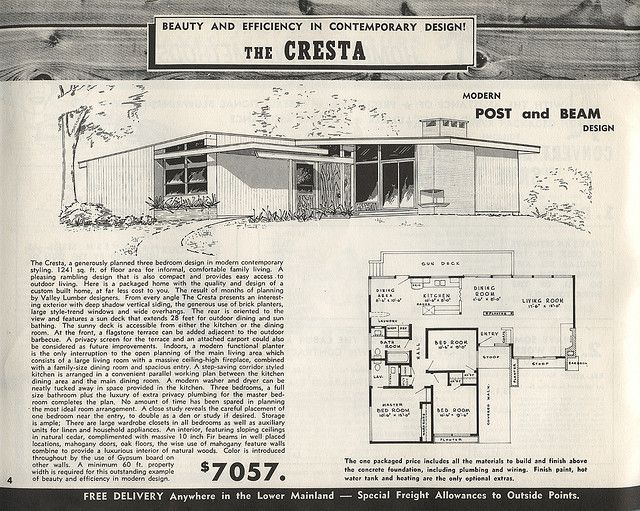 614 best images about mid century home plans on pinterest for Atomic ranch house plans