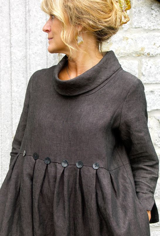 Winter Button Dress £270.