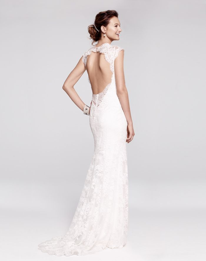 It's all about the back - how stunning is this dress?
