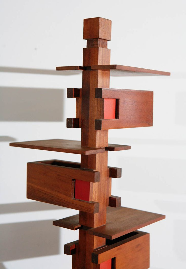 'Taliesin 3' Table Lamp by Frank Lloyd Wright | From a unique collection of…