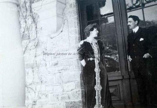 BU-F-01073-1-03350-3 Regina Maria şi Barbu Ştirbei la Buftea, s. d. (sine dato) (niv.Document)