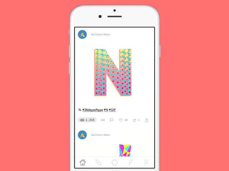 036 –– Ello iOS app redesign by Martin Rariga