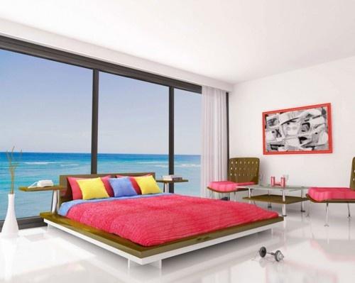 Design minimale e tanta tanta luce per la camera da letto dei nostri sogni