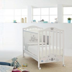 Baby Cot Bed With Wheels