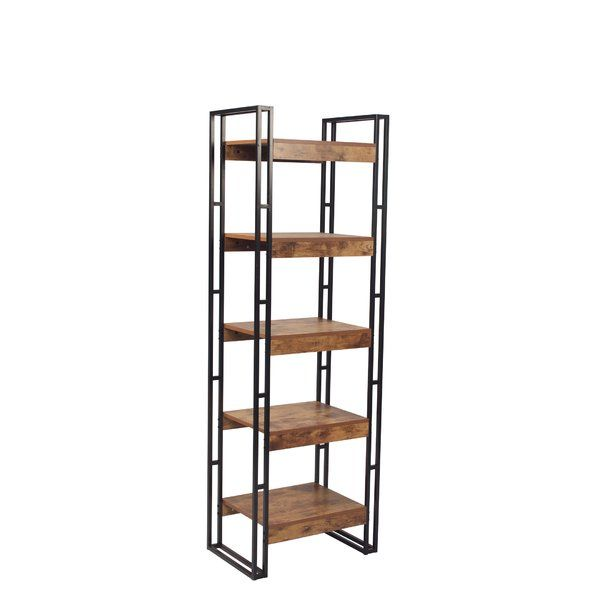 This Vania Etagere Bookcase Will Bring An Industrial Atmosphere Of Urban Chic To Any Room In Your Hom Buy Office Furniture Pvc Furniture Plans Etagere Bookcase