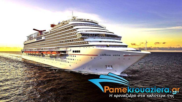 To κρουαζιερόπλοιο #carnivalvista είναι ο,τι πιο μοντερνο και #fun στον κόσμο της κρουαζιέρας.Mάθετε περισσότερα στο pamekrouaziera.gr  #cruises #carnivalcruises #party #happiness #pamekrouaziera