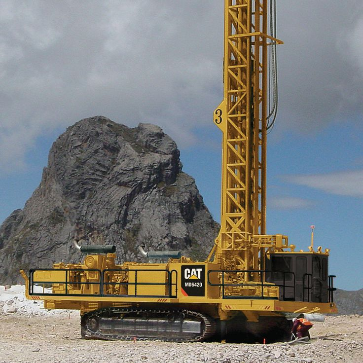 Cat MD6420 Blasthole Drilling Rig