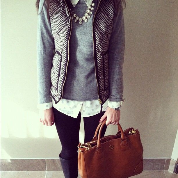 J.Crew Herringbone Vest, man I have so many pins of this specific vest.... I think I'm a little obsessed....