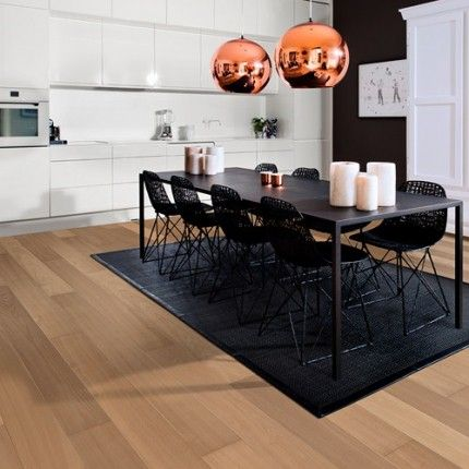 Kahrs Oak Berlin 1-Strip 187mm Nature Oil Stained Micro Bevelled Brushed