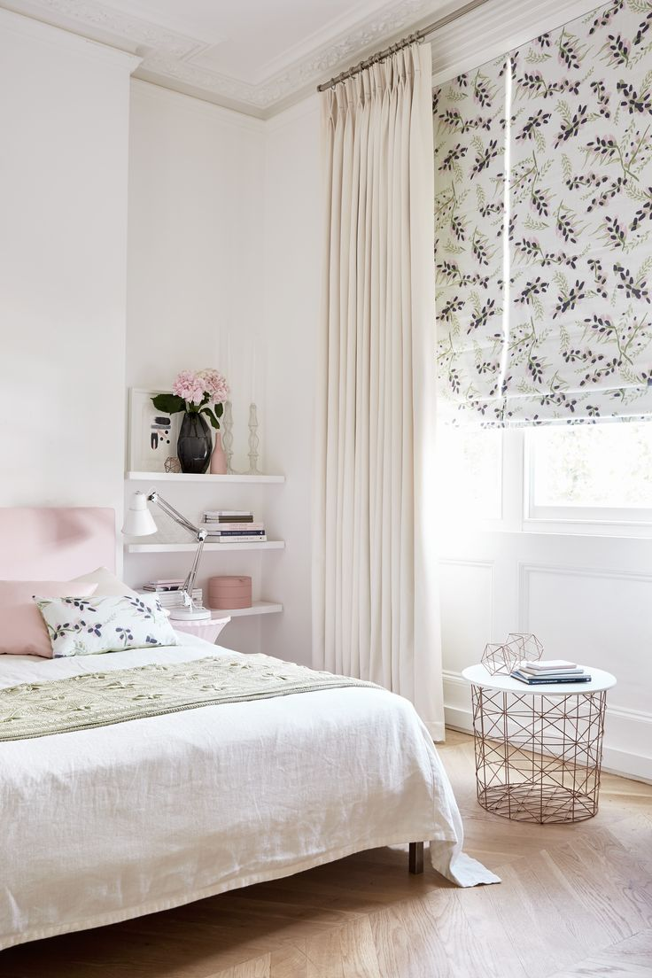 Blinds and curtains combination bedroom - Find This Pin And More On Roman Blinds And Curtains