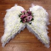 angel wings funeral arrangement | Angel Wings                                                                                                                                                                                 More