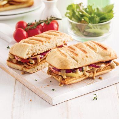Grilled cheese gourmet à la saucisse et aux pommes - Soupers de semaine - Recettes 5-15 - Recettes express 5/15 - Pratico Pratique