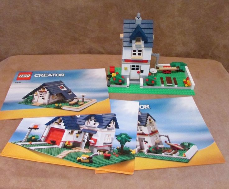 Lego Creator Instructions 31012