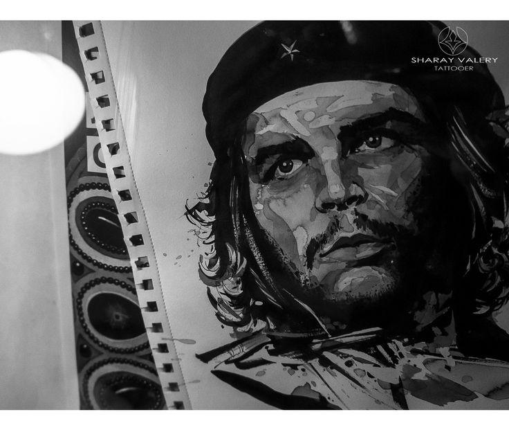 Che Guevara portrait.