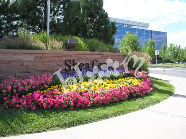 Commercial Landscape Annuals Design And Installation By