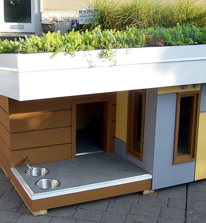109 best dog houses images on Pinterest | Cool dog houses, Dog and ...