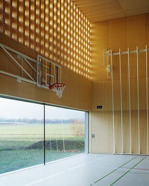 Graeme Mann Patricia Capua Architectes Dual SportBuilding DesignInterior