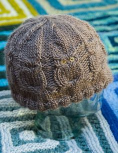 Finally found a free pattern for this adorable owl pattern! Now we just need to learn how to knit. :-)