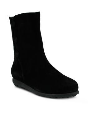 Spring Step Women's Chemise Slip-On Boot - Black - 35 Eu / 4 - 4.5 M Us