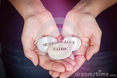 Faith, Hope And Love - Download From Over 32 Million High Quality Stock Photos, Images, Vectors. Sign up for FREE today. Image: 54045744