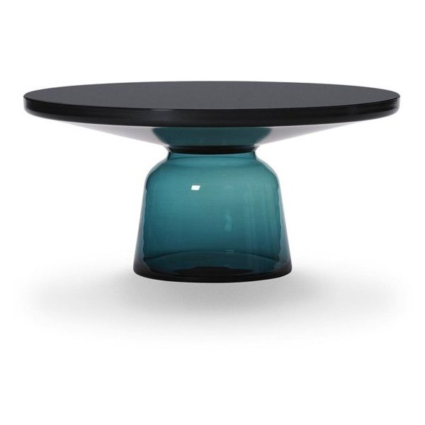 Sebastian Herkner Bell Coffee Table ($3,635) ❤ liked on Polyvore featuring home, furniture, tables, accent tables, lightweight furniture, black table, handcrafted furniture, black accent table y black lacquer furniture