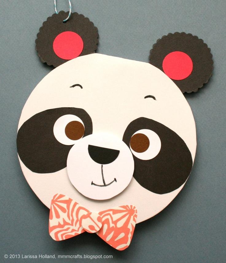 Красивые открытки панды своими руками