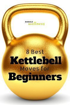 Build mobility, stability, and strength with these 8 best kettlebell moves for beginners. | RodaleWellness.com