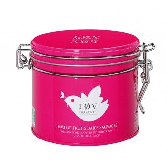 Løv Organic Tea - Wild Berry Fruit Tea 100g