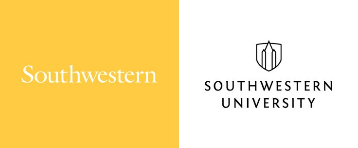New Logo System for Southwestern University done In-house