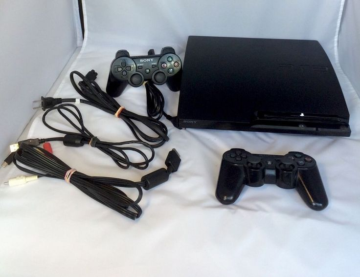 PS3 Slim System 120Gb (Model Cech-2001A Or 2101A) FREE SHIPPING #Sony