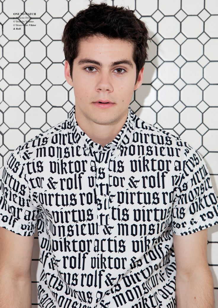 Dylan O'Brien for Fashionisto, Talks Teen Wolf + The Maze Runner