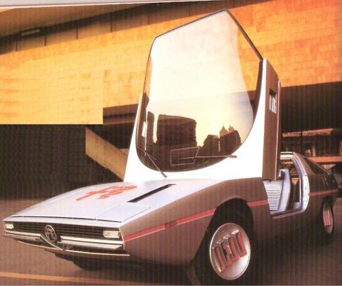 1971 Alfasud Caïmano by Guigaro ( Ital Design)