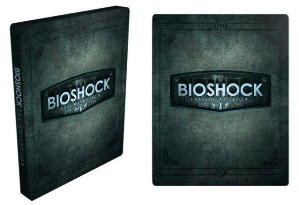 Esto es lo que incluye la edición metálica de #BioshockCollection