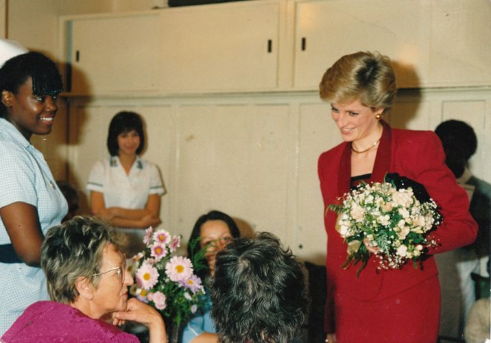 Lady Diana HIV Station. Copyright by Jennifer Jaque-Rodney