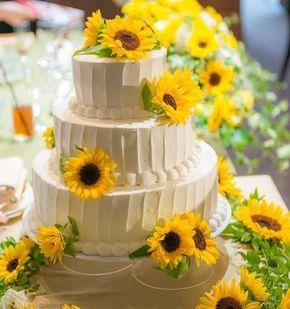 夏の結婚式で向日葵(ひまわり)がテーマのアイテム・演出まとめ | marry[マリー]