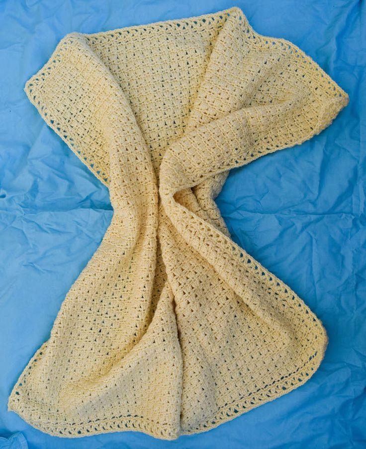 Little Gracie Baby Blanket by Marie Segares/Underground Crafter