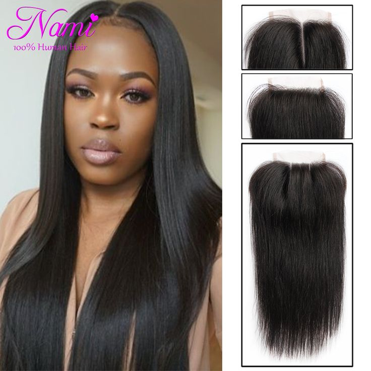 """Find More Lace Closure Information about 6A Best Peruvian Virgin Human Hair Straight Lace Closure 4""""x4"""" Top Swiss Lace Free/Middle/Three Ways Part Closure With Baby Hair,High Quality hair bun,China lace human hair Suppliers, Cheap hair lace front from Guangzhou Nami hair products co., LTD on Aliexpress.com"""