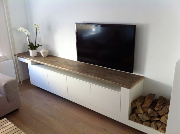 Inbouw tv meubel van another fine dimidesign tv meubel pinterest tv tv - Plank wandmeubel ...