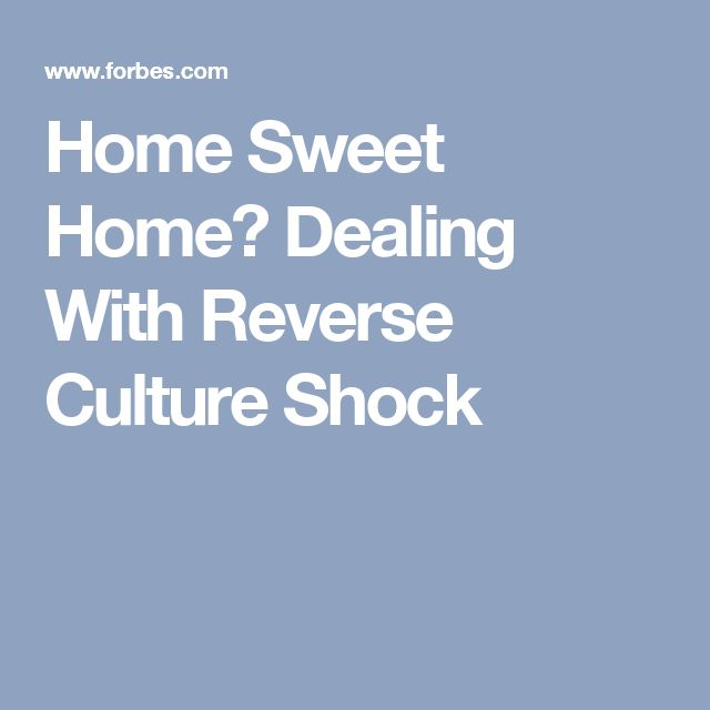 how to cope with reverse culture shock Reverse culture shock: what, when, and how to cope 28 comments this article explains what happens when culture shock is reversed, what to expect, and how to cope with its effects.