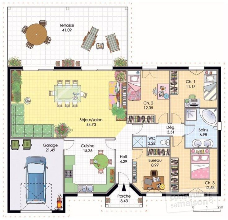 15 best Maison images on Pinterest Home ideas, Cottage floor plans