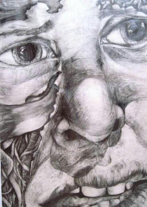 'Pain' pencil 2003