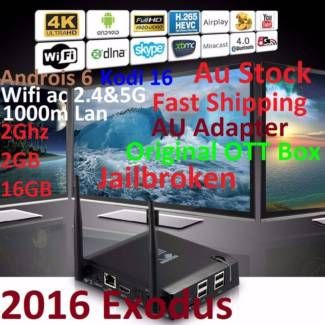 KIII K3 Jailbroken 2016 Exodus 4K Android 6 Box 2G 2G 16G AC wifi | Other Electronics & Computers | Gumtree Australia Manningham Area - Doncaster | 1118102193