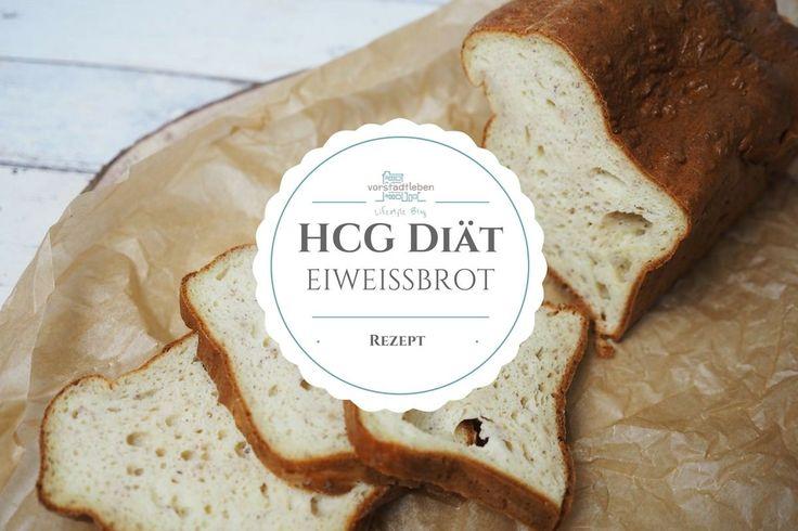 Brot für die strenge Phase der hCG Diät - Eiweißbrot Rezept