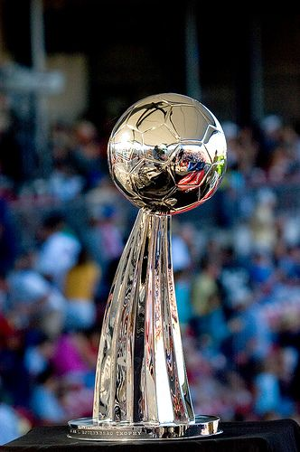 The Alan I. Rothenberg Trophy was awarded annually by Major League Soccer to the winner of the MLS Cup prior to the introduction of the Philip F. Anschutz Trophy.