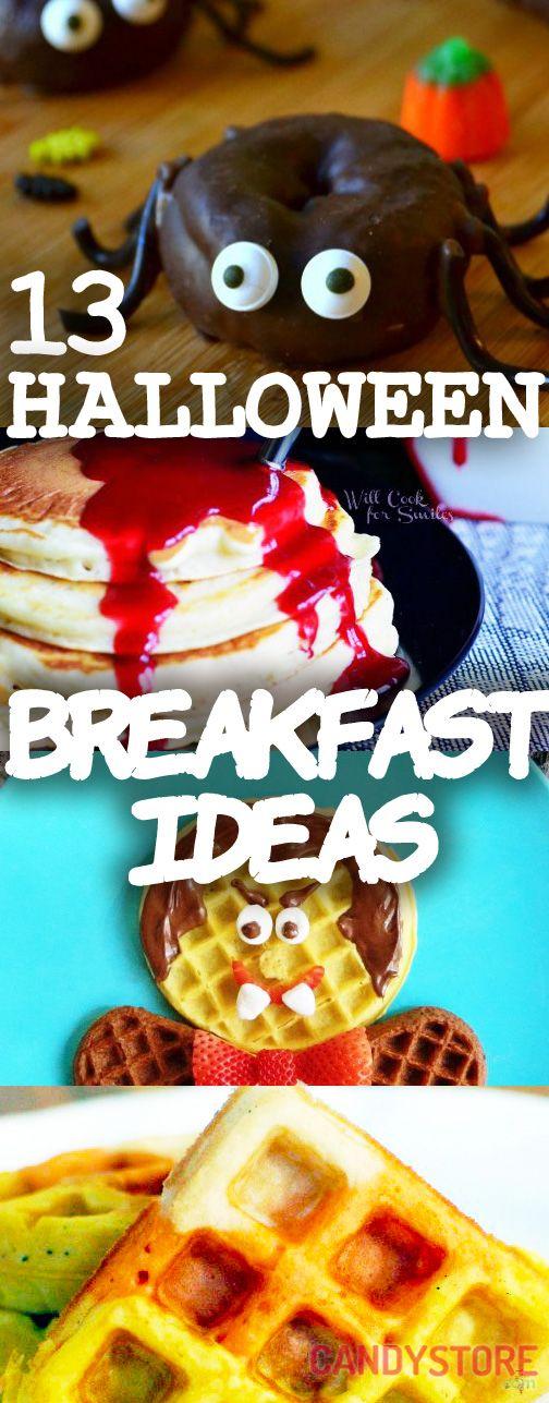 Halloween Breakfast Ideas for Kids