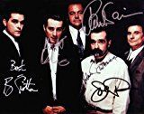 #7: Goodfellas with Robert DeNiro  Ray Liotta  Joe Pesci Cast Signed Autographed 8 x 10 Reprint Photo  (Mint Condition)