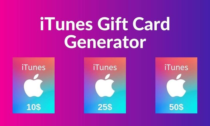 Free apple itunes gift card code generator online 2020 in