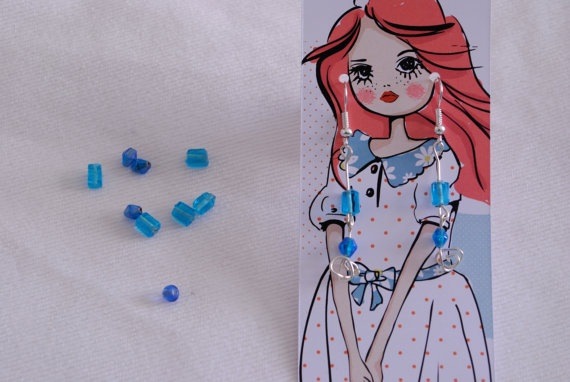 lovely handmade beaded earrings