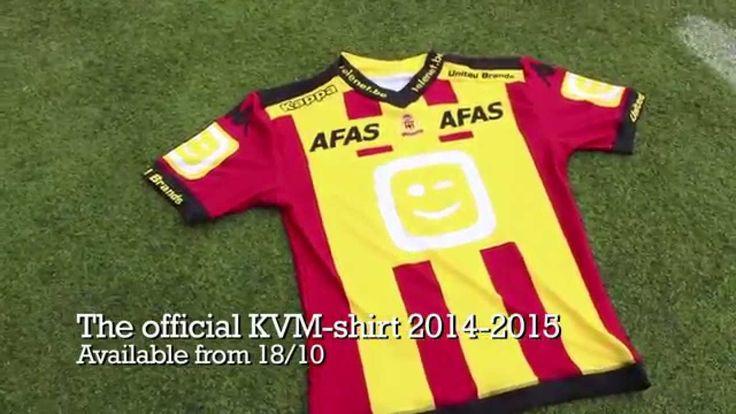 Official shirt KV Mechelen '14-'15